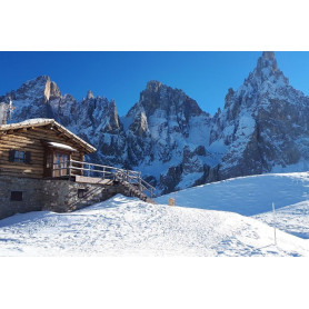 SAN MARTINO DI CASTROZZA 29 DICEMBRE 2019 - 02 GENNAIO 2020 CAPODANNO SULLA NEVE IN PULLMAN DA FANO Euro 510,00